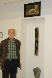 Herbert Kraus bei seiner Arbeit für I myself
