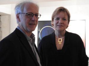 LR Barbara Schwarz und Ernest A. Kienzl bei der Eröffnung