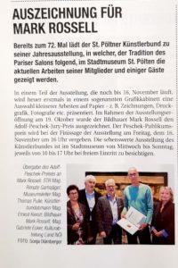 Artikel in St. Pölten konkret