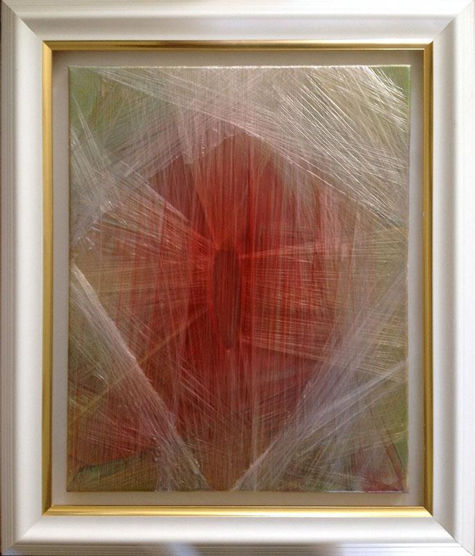 """""""Scheide"""", die Arbeit von Mark Rossell in der Ausstellung """"Schwere"""""""