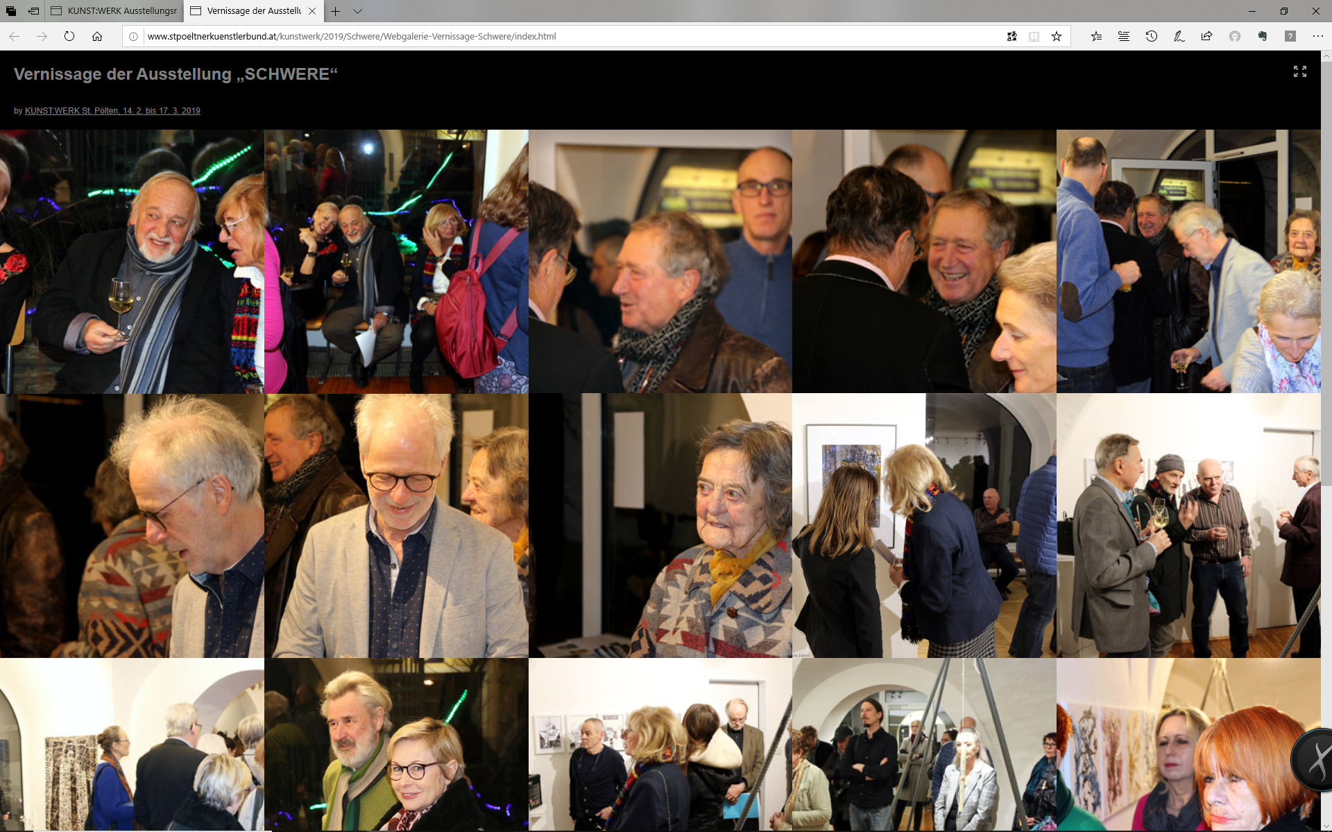 Vernissage SCHWERE
