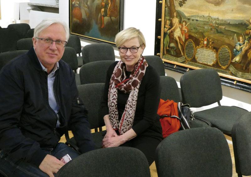 Eva Bakalar mit Carl Aigner