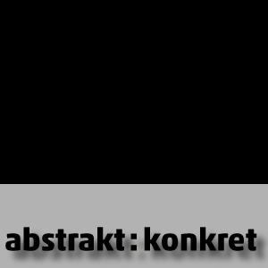 Logo abstrakt:konkret