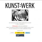 Homepage KUNST:WERK bis Dezember 2020