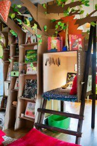 Ausstellungsgestaltung »Versteckt«/Kinderbuchhaus 2016