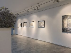 Ausstellung AREAS and STRUCTURES in der BV Galerie Klagenfurt 2019