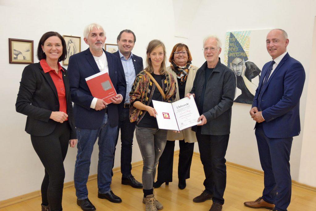 Adolf Peschek-Preis der Jury an Linda Partaj