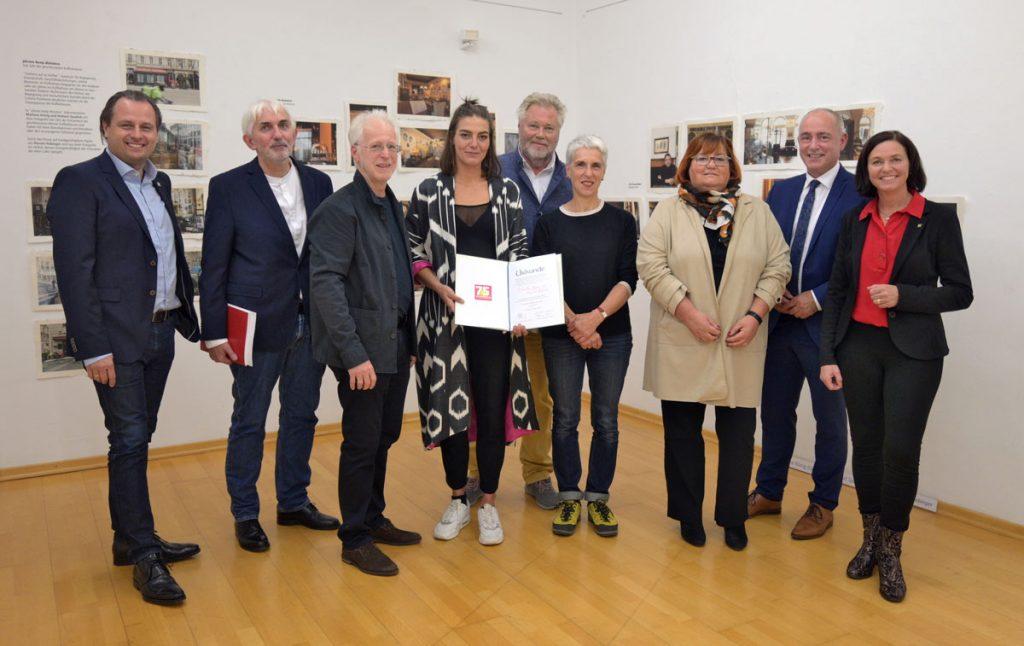 Besondere Anerkennung für Helmut Spudich und Marlena König